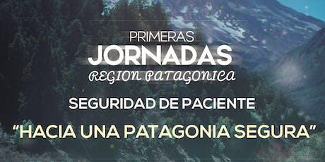 Primeras Jornadas Region Patagonica. Seguridad de Paciente entradas