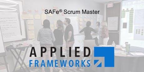 SAFe Scrum Master (SAFe 4.6) tickets