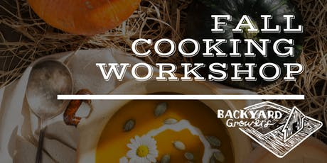 November Cooking Workshop tickets