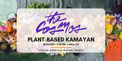The Cosmos IE - Plant-Based Kamayan Dinner