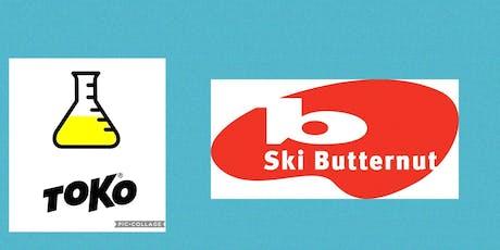 TOKO Tuning Lab #2, @ SKI BUTTERNUT SKI AREA tickets