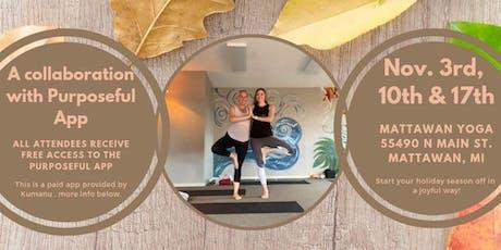 Yoga+Purpose Workshop Series tickets