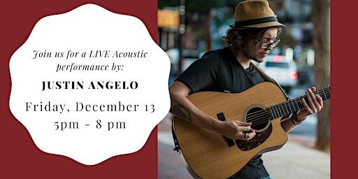 Justin Angelo LIVE at Weathered Vineyards Ephrata