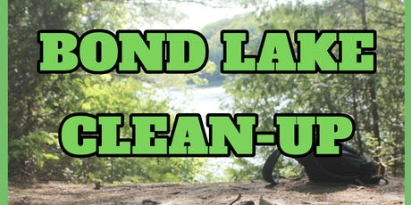 Bond Lake Clean-Up tickets