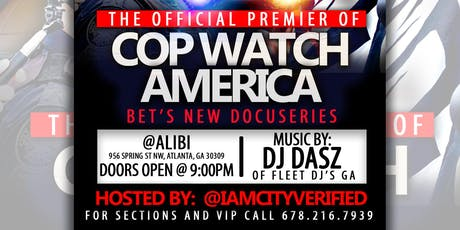 The Official Watch Party for CopWatch America tickets
