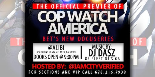 The Official Watch Party for CopWatch America