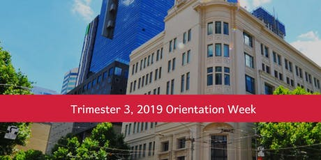 MIT Orientation Week (Trimester 3, 2019) tickets