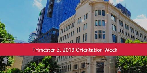 MIT Orientation Week (Trimester 3, 2019)
