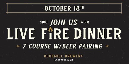 Live Fire Dinner   10.18.19