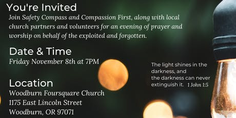 Evening of Prayer & Worship for Local Anti-Trafficking Work tickets