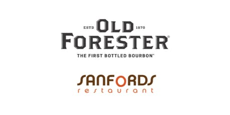Sanfords Whiskey Bar Hosts Old Forester Expressions Dinner & Pairing tickets