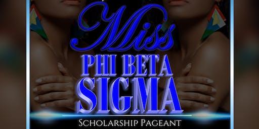 Cheyney University Miss Phi Beta Sigma Scholarship Pageant