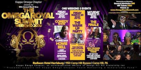 Omega Royal Summit Weekend 2020 (Kappa Omega Chapter Mardi Gras) tickets