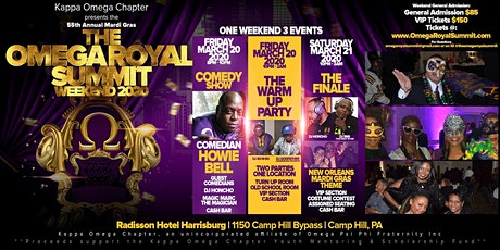 Omega Royal Summit Weekend 2020 (Kappa Omega Chapter Mardi Gras) tickets
