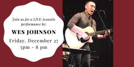 Wes Johnson LIVE at Weathered Vineyards Ephrata tickets