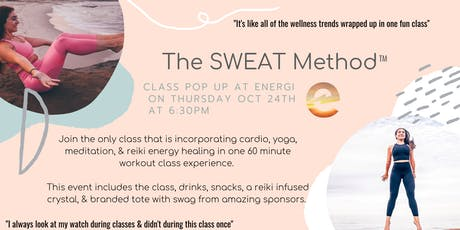 The SWEAT Method Pop Up Class at Energi tickets