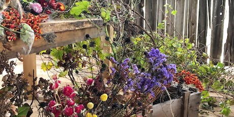 Make a Fall Grapevine Wreath with Dried Flowers - October 20th, 1:00 tickets
