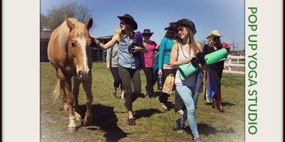 Yoga and Raffle on The Ranch