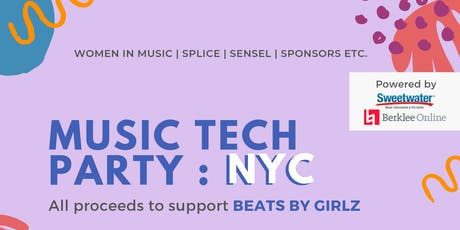Beats by Girlz Music Tech Party @ Splice HQ tickets