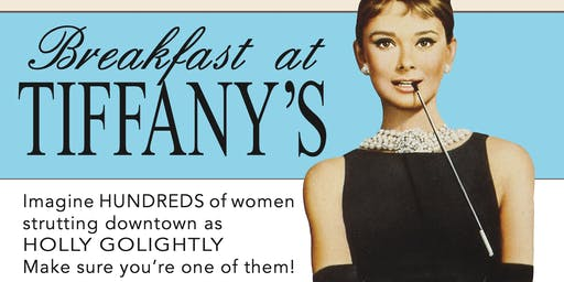 """Breakfast At Tiffany's"" to Support Susan G. Komen at POSH"