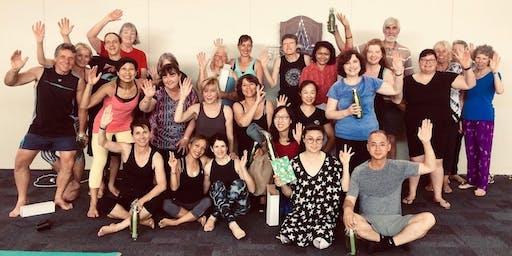 2019 Christmas Yoga Party (Melbourne) with Rita Madou
