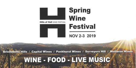 Hills of Hall Wine Tour tickets