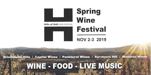 Hills of Hall Wine Tour