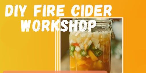 DIY Fire Cider Workshop