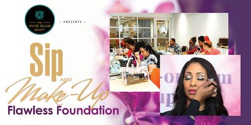 Sip & Make-up Makeup Class - Flawless Foundation