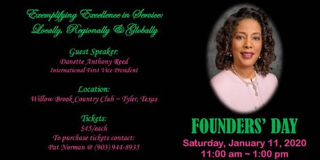 National Founders Day tickets
