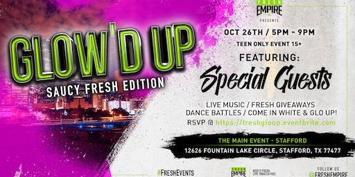 The Main Event: Suacy Fresh Glo Party!