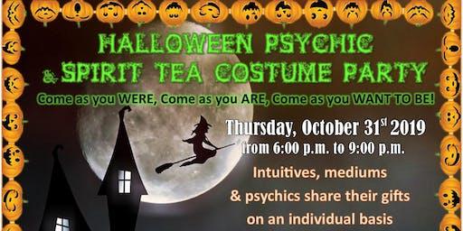 Halloween Psychic & Spirit Tea Costume Party