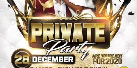 PRIVATE PARTY billets