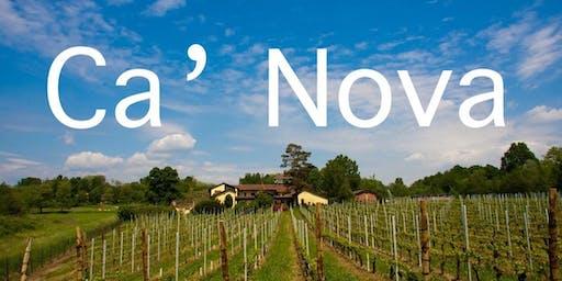 Fall Wine Dinner with Giada Codecasa, owner of Ca' Nova winery