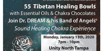 55 Tibetan Healing Bowls, Essential Oils & Chocolate in North Tampa