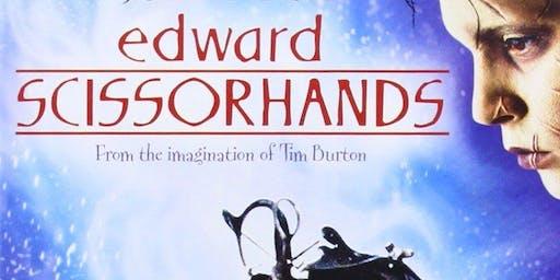 Movie Night With Cats- Edward Scissorhands