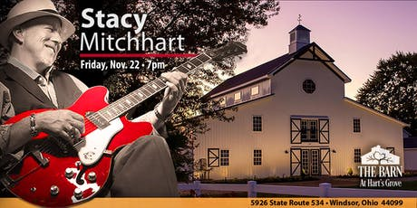 """Stacy Mitchhart  """"Solo Tour"""" Live at The Barn at Hart's Grove in Windsor OH tickets"""