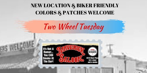 Two Wheel Tuesday- NEW LOCATION