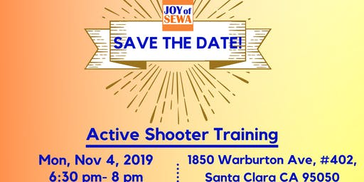 Active Shooter Training by Joy of Sewa