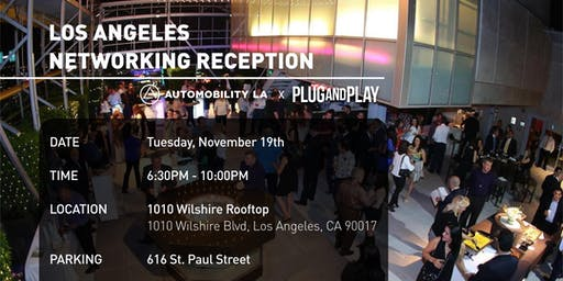 Plug and Play Networking Reception