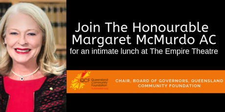 An Intimate Lunch with Margaret McMurdo AC tickets