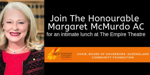 An Intimate Lunch with Margaret McMurdo AC