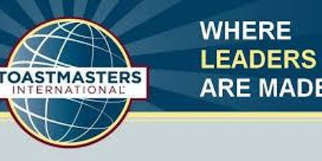 Contest Area H32 - Toastmasters - Humorous & Table Topics & Educational tickets