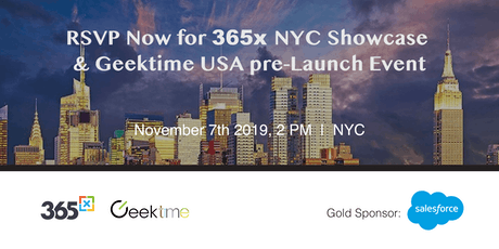 Israel Innovation Event - 365x NYC 2019 ShowCase & Geektime USA Pre-Launch tickets