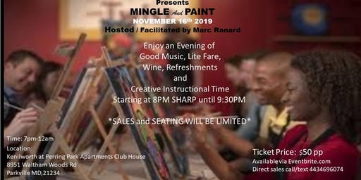 mingle and paint
