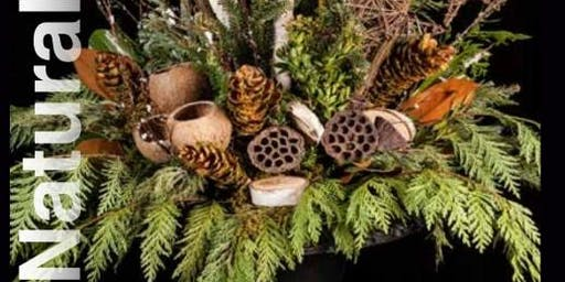 Natural Elements Winter Planter at Superior Farms $85 (+ tax)