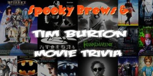 Spooky Brews & Tim Burton Movie Trivia