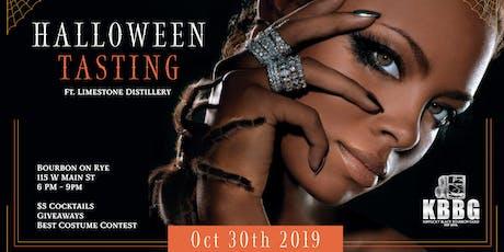 Halloween Boo-Zin Tasting powered by KBBG tickets