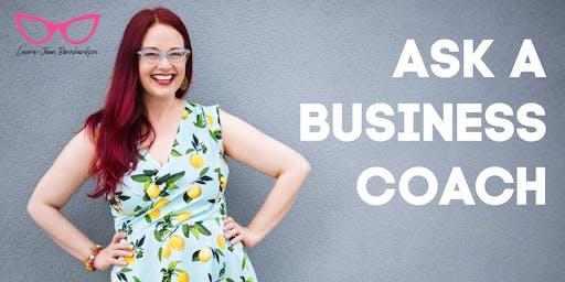 Ask a Business Coach - Virtual Event - Toronto West