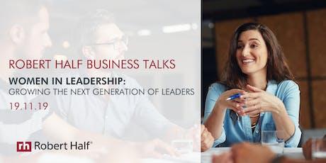 Robert Half Business Talks:  Women in Leadership tickets